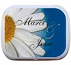 personalized flower mint tin