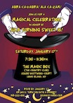 personalized magic theme invitation
