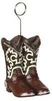 cowboy boot balloon holders