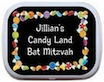 personalized candy theme mint and candy tin