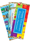 retirement personalized candy bars and wrappers