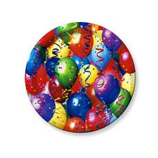 "Photo Balloons 7"" Plate"