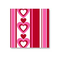 Hearts Lunch Napkins (16)