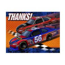 Nascar Thank You Notes