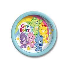 "Care Bears 7"" Plates"