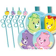 Care Bears Straws