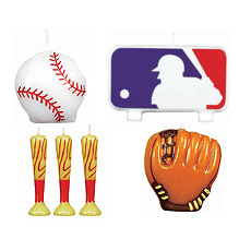 MLB Cake Candle Set