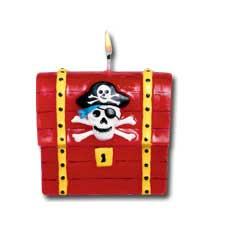 Pirate Treasure Candle