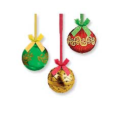 "Ornament 24"" Danglers (3)"