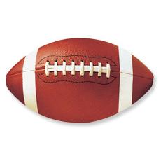 Football Cutout Asst