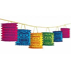 Garland Tiki Lanterns
