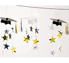 Graduation Cap Garland