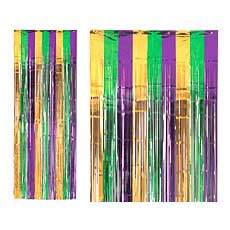 Mardi Gras Curtain