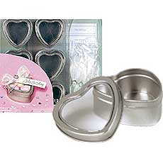 Heart Tin Favor Kit