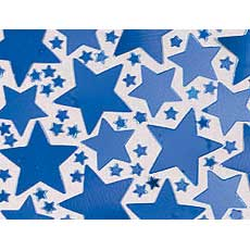 Blue Star Confetti Mix