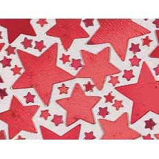 Red Star Confetti Mix