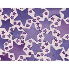 Purple Star Confetti Mix