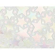 Iridescent Star Confetti