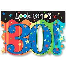Celebrate 30 Invitation