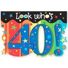 Celebrate 40 Invitation
