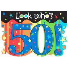 Celebrate 50 Invitation