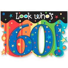 Celebrate 60 Invitation