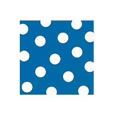 Blue Dot Beverage Napkin
