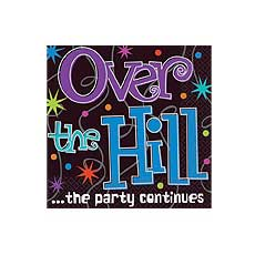 Over The Hill Bev Napkin