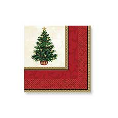 Christmas Tree Luncheon napkins (16)