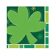 Spring Clover Luncheon napkins (16)