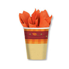 Autumn Hues 9oz Cups (8)