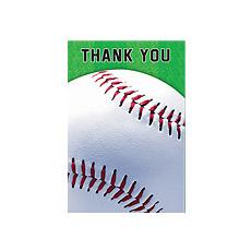 Baseball Fan Thk-U Cards