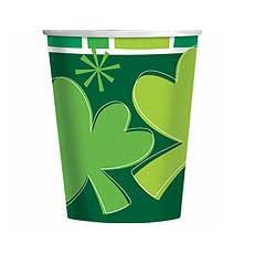 Spring Clover 9 oz. Cups (8)