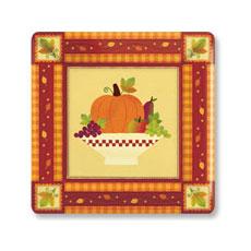 """Autumn 10"""" Plates (8)"""