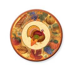 "Thanksgiving 10.5"" Plate (8)"