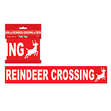 Reindeer Crossing Tape