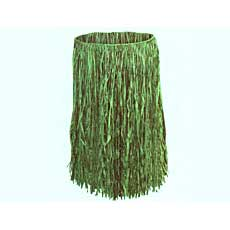 Green Raffia Child Skirt