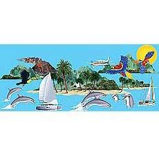 Tropical Cruise Scene