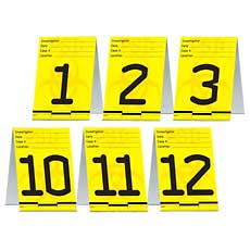 Psi Table Cards
