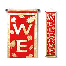 "Thanksgiving 54"" Banner"