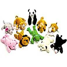 Bean Bag Animals 8""