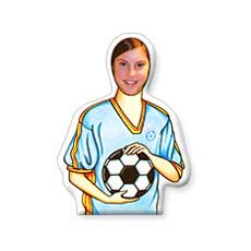 Soccer Photo Character