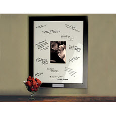 Personalized Guest Frame / Unique Signature photo frame great for any party!