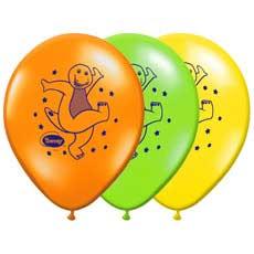 "Barney 12"" Balloons"