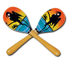 Hawaiian Maracas
