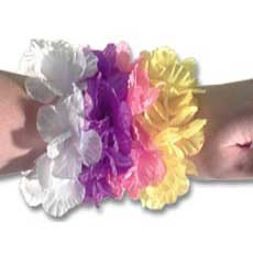 Silk Flower Bracelets