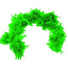 Deluxe Lime Green Boa