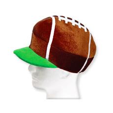 Velour Football Cap
