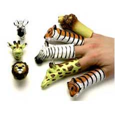 Animal Finger Puppets 3""