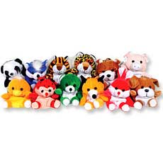 Asst Plush Animals